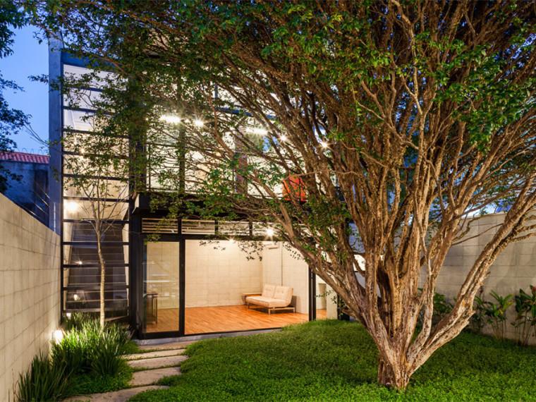 巴西Alberto Seabra住宅兼工作室