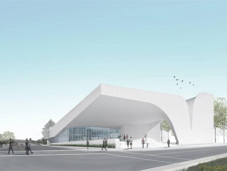 美国南部艺术博物馆峡谷造型屋顶