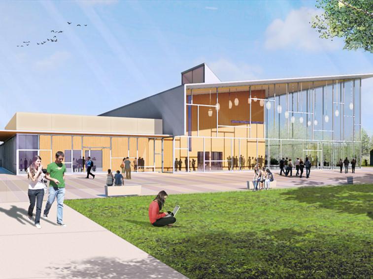 美国Methodist大学整体规划景观