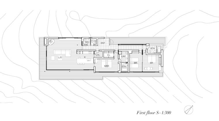 日本悬浮于空的住宅平面图-日本悬浮于空的住宅第18张图片