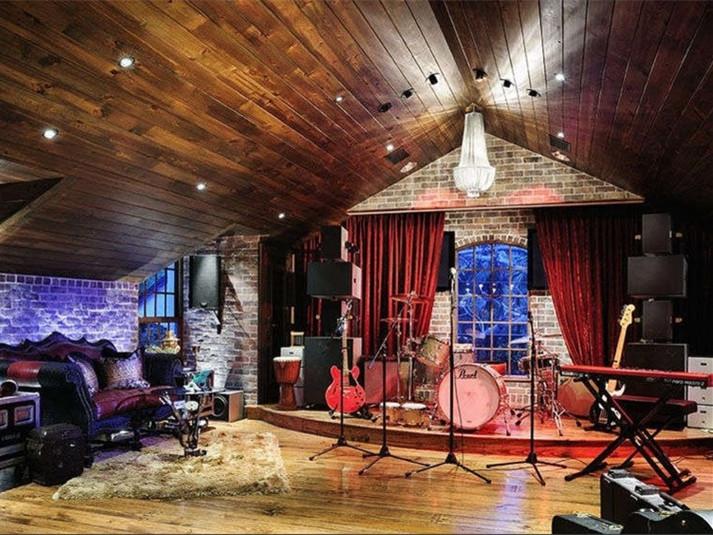 设计家庭音乐工作室