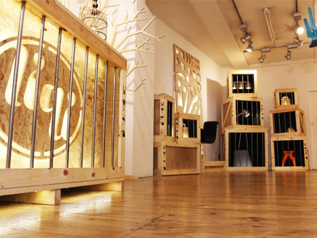 2014年伦敦设计节上的Liqui店