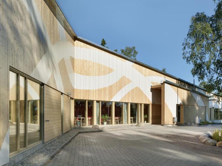 芬兰Omenapuisto幼儿园