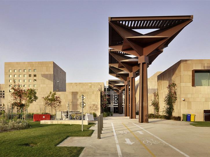 卡塔尔HBKU大学生活动中心