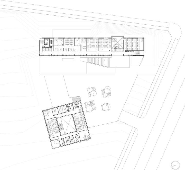 智利UDP经济学院校园总体规划平面-智利UDP经济学院校园总体规划第19张图片