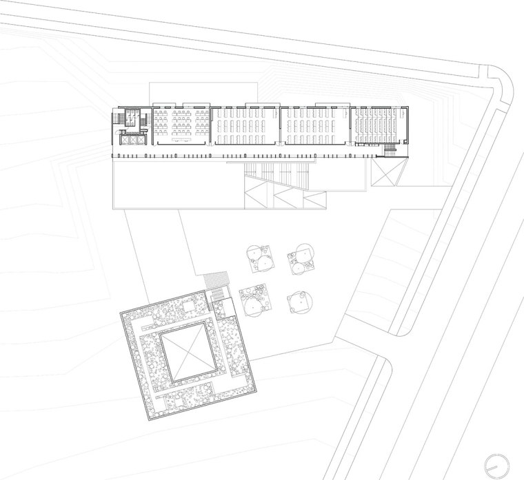 智利UDP经济学院校园总体规划平面-智利UDP经济学院校园总体规划第20张图片