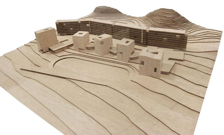 智利UDP经济学院校园总体规划模型-智利UDP经济学院校园总体规划第16张图片