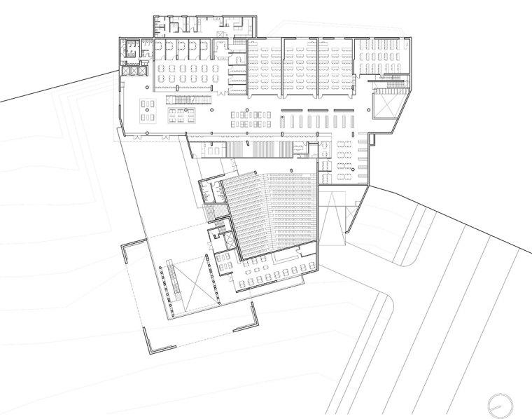 智利UDP经济学院校园总体规划平面-智利UDP经济学院校园总体规划第18张图片