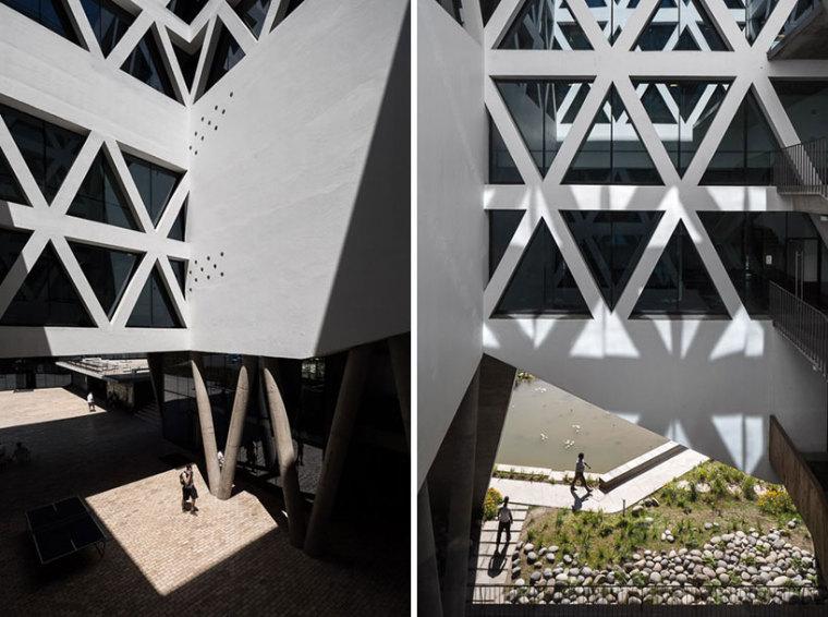 智利UDP经济学院校园总体规划外部-智利UDP经济学院校园总体规划第11张图片