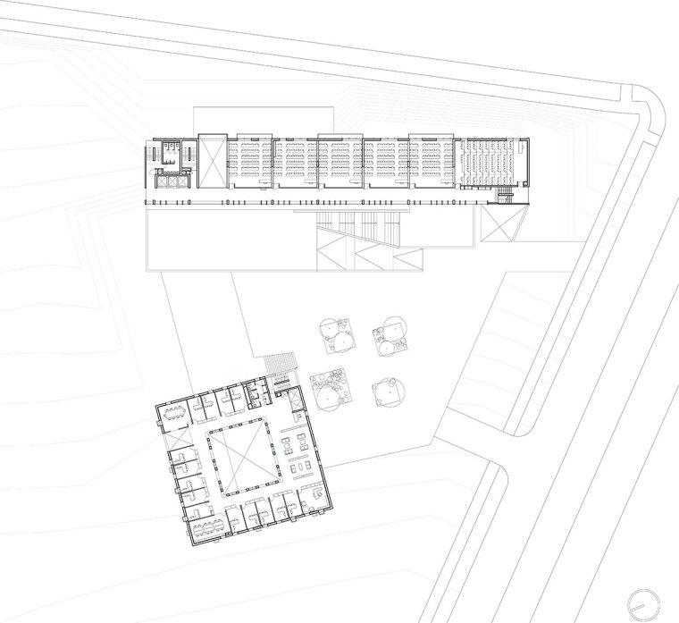 智利UDP经济学院校园总体规划平面-智利UDP经济学院校园总体规划第21张图片