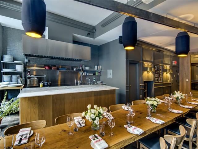 美国Sopra地中海式餐厅