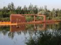 宁夏银川艾依河滨水景观公园