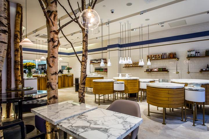 英国伦敦Ethos餐厅室内局部实景图-英国伦敦Ethos餐厅第5张图片