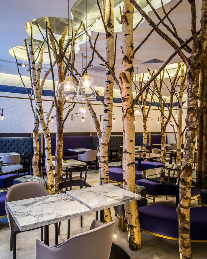 英国伦敦Ethos餐厅室内实景图-英国伦敦Ethos餐厅第2张图片