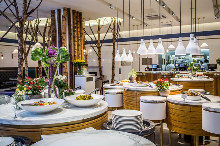英国伦敦Ethos餐厅室内局部实景图-英国伦敦Ethos餐厅第6张图片