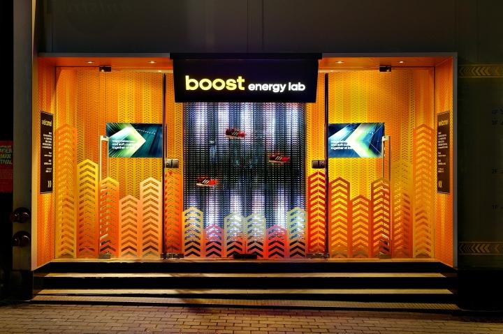 韩国Boost™实验游击店-韩国Boost™实验游击店外部夜景实-韩国Boost™ 实验游击店第11张图片