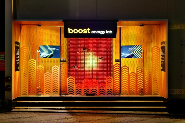 韩国Boost™实验游击店-韩国Boost™实验游击店外部夜景实-韩国Boost™ 实验游击店第12张图片