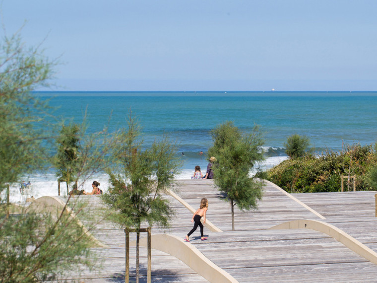 法国昂格莱南海岸第1张图片