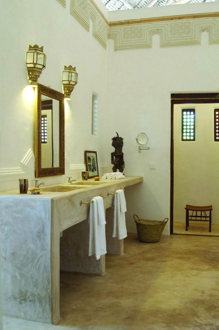 肯尼亚拉姆红辣椒房室内浴室实景-肯尼亚拉姆红辣椒房第15张图片