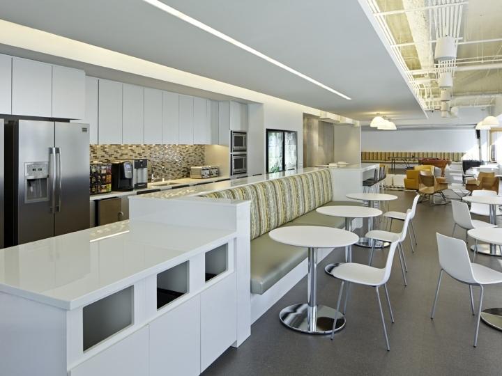 美国芝加哥Golin办公室室内茶水间-美国芝加哥Golin办公室第9张图片
