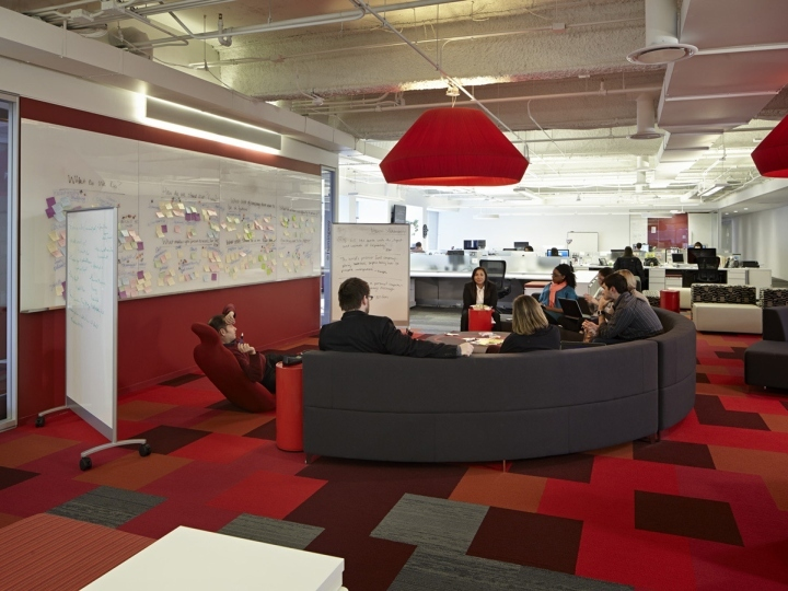 美国芝加哥Golin办公室室内局部实-美国芝加哥Golin办公室第5张图片