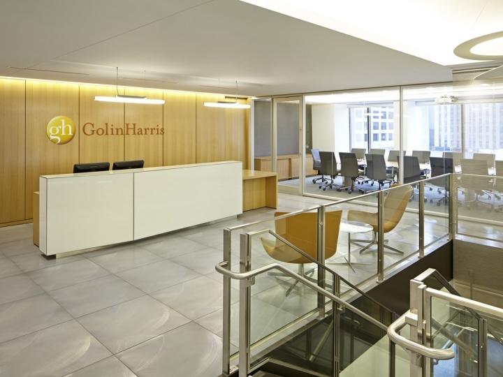 美国芝加哥Golin办公室室内前台实-美国芝加哥Golin办公室第2张图片