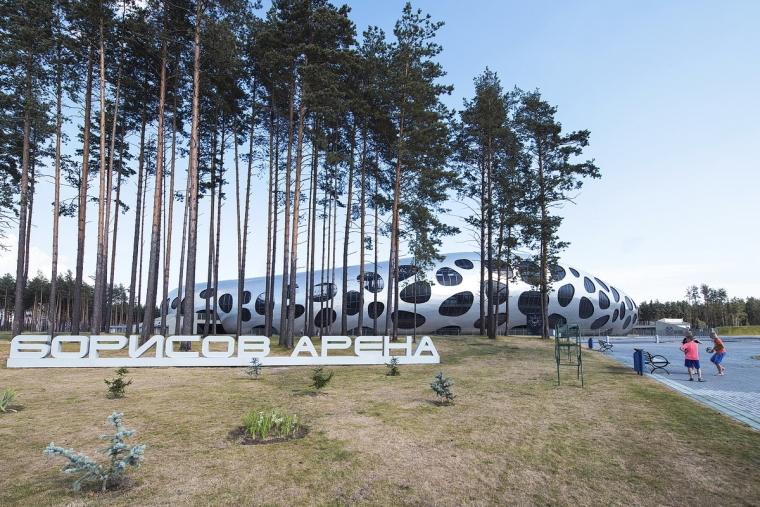 白俄罗斯鲍里索夫足球体育场外部-白俄罗斯鲍里索夫足球体育场第4张图片