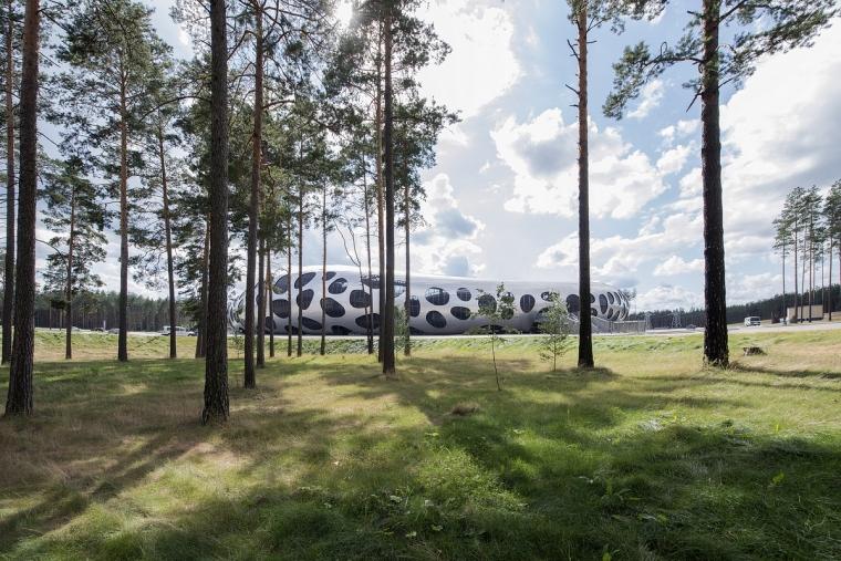 白俄罗斯鲍里索夫足球体育场外部-白俄罗斯鲍里索夫足球体育场第2张图片