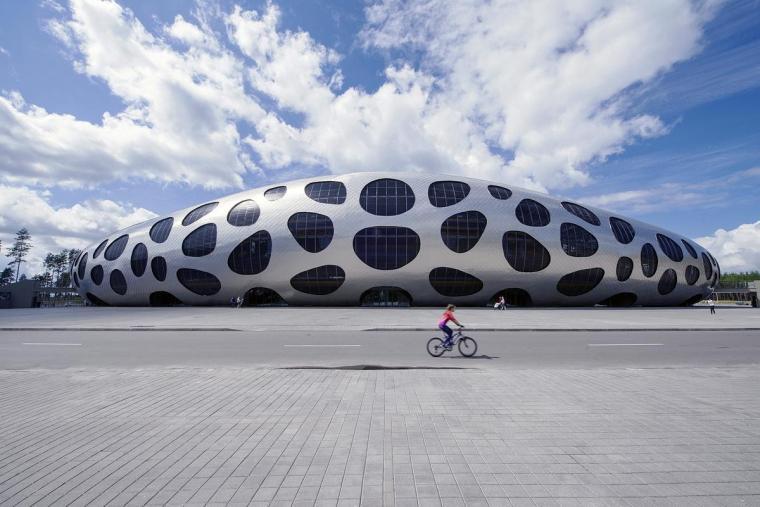 白俄罗斯鲍里索夫足球体育场外部-白俄罗斯鲍里索夫足球体育场第9张图片