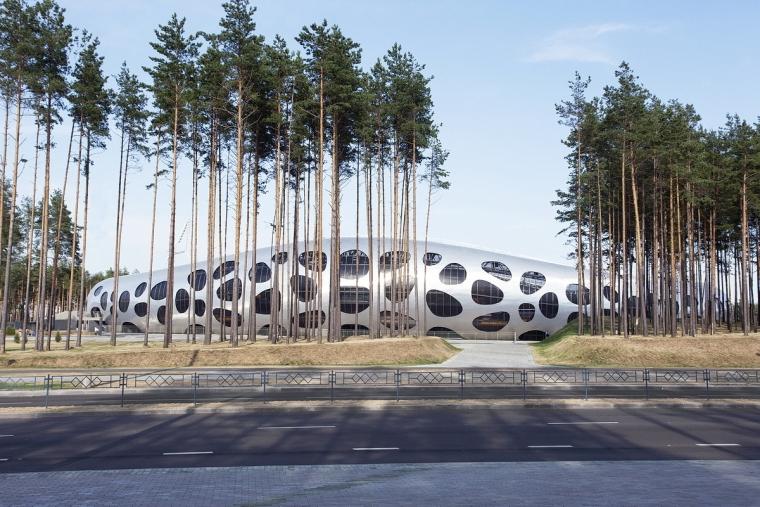 白俄罗斯鲍里索夫足球体育场外部-白俄罗斯鲍里索夫足球体育场第5张图片