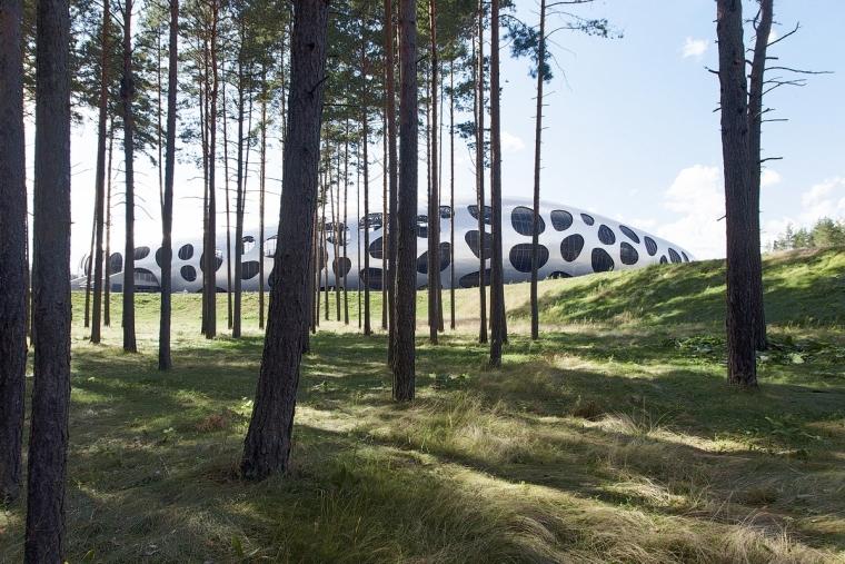 白俄罗斯鲍里索夫足球体育场外部-白俄罗斯鲍里索夫足球体育场第3张图片