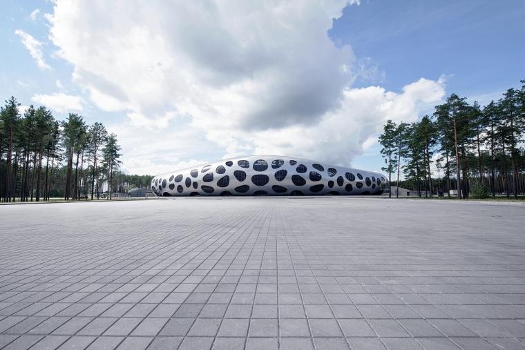 白俄罗斯鲍里索夫足球体育场外部-白俄罗斯鲍里索夫足球体育场第8张图片