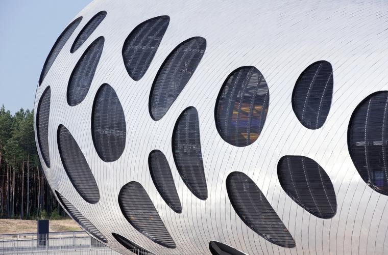 白俄罗斯鲍里索夫足球体育场外部-白俄罗斯鲍里索夫足球体育场第12张图片
