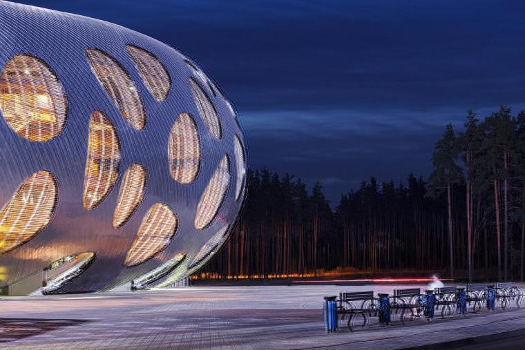 白俄罗斯鲍里索夫足球体育场外部-白俄罗斯鲍里索夫足球体育场第16张图片