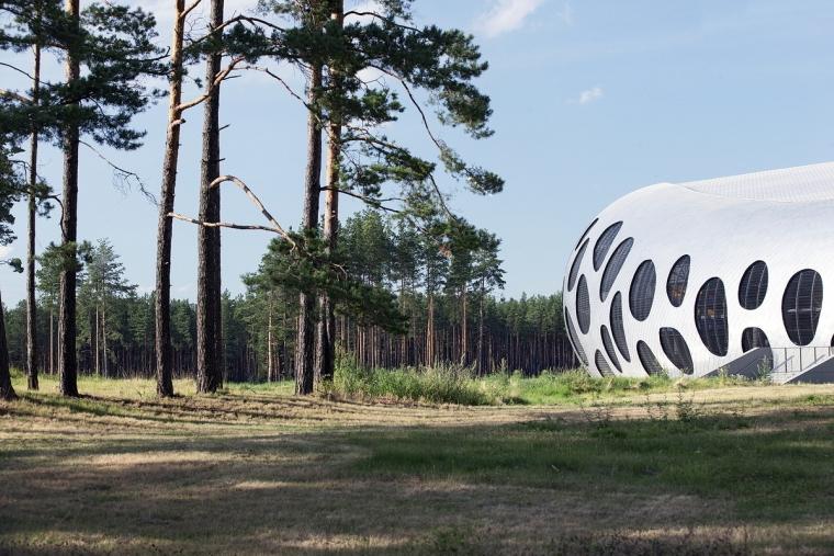 白俄罗斯鲍里索夫足球体育场外部-白俄罗斯鲍里索夫足球体育场第13张图片