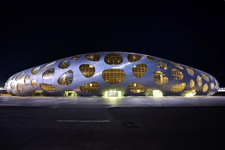 白俄罗斯鲍里索夫足球体育场外部-白俄罗斯鲍里索夫足球体育场第17张图片