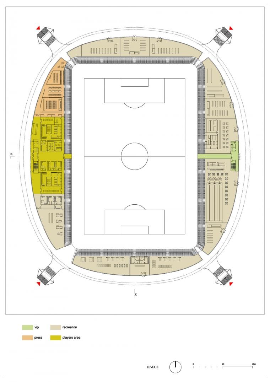 白俄罗斯鲍里索夫足球体育场平面-白俄罗斯鲍里索夫足球体育场第22张图片