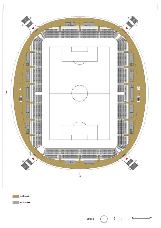 白俄罗斯鲍里索夫足球体育场平面-白俄罗斯鲍里索夫足球体育场第24张图片