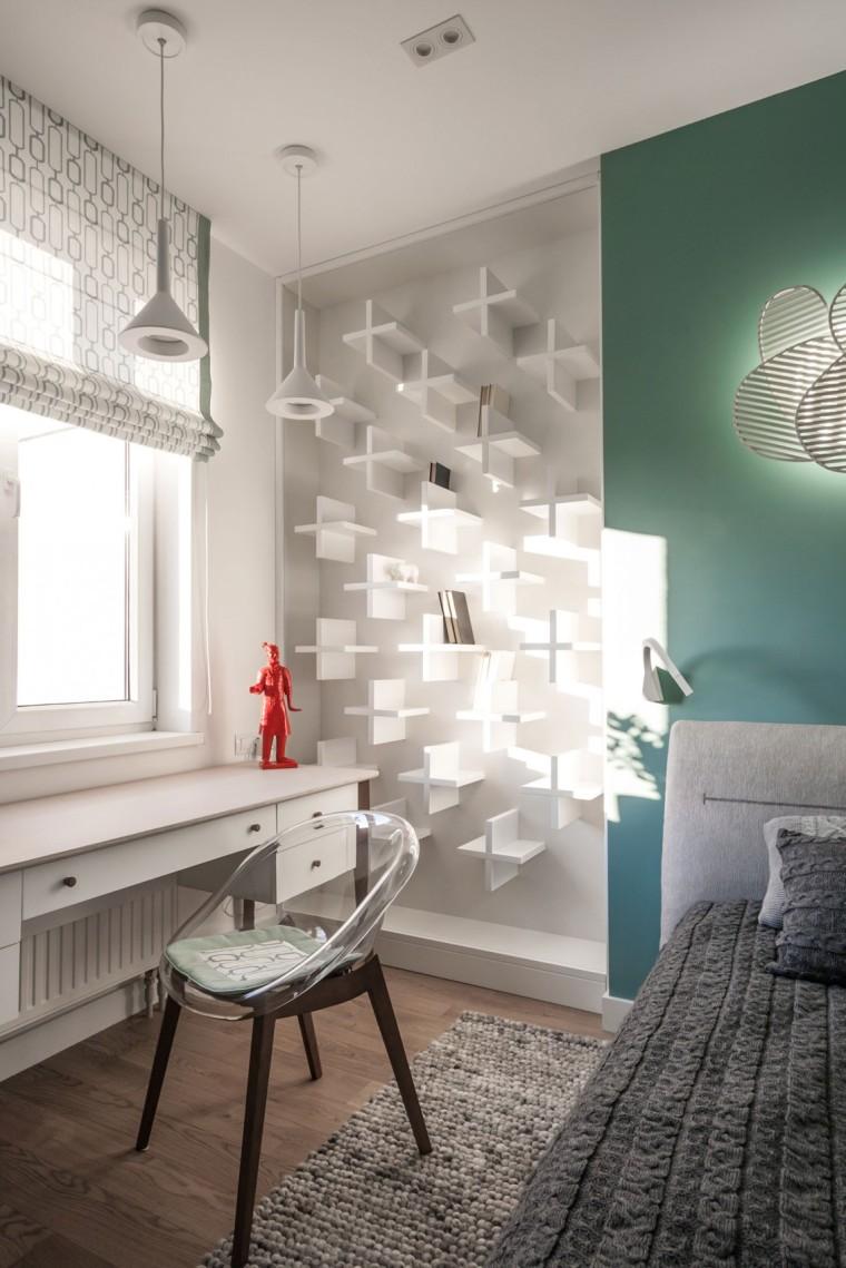Apart乌克兰公寓室内卧室实景图-乌克兰公寓第19张图片