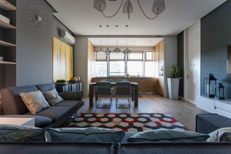 乌克兰公寓室内客厅实景图-乌克兰公寓第8张图片