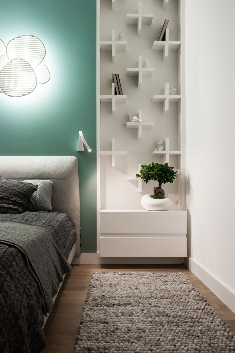 Apart乌克兰公寓室内卧室实景图-乌克兰公寓第17张图片