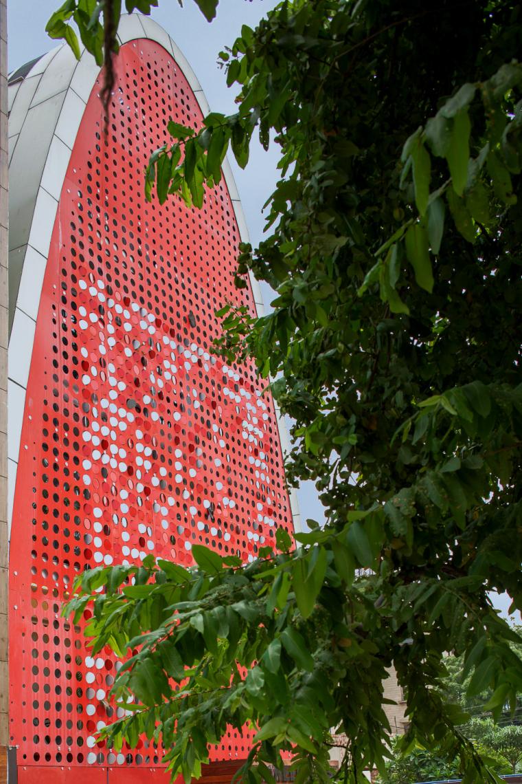 印度TheDigit办公楼-印度The Digit办公楼外部实景图-印度The Digit办公楼第3张图片