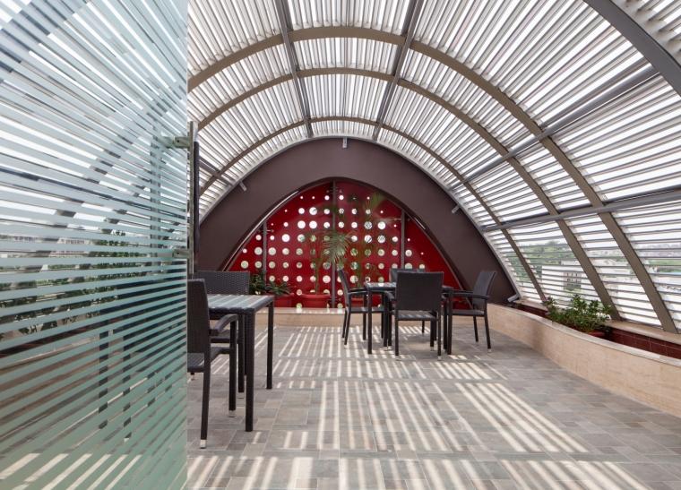 印度TheDigit办公楼-印度The Digit办公楼内部一角实景-印度The Digit办公楼第8张图片