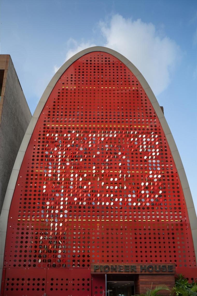 印度TheDigit办公楼-印度The Digit办公楼外部实景图-印度The Digit办公楼第2张图片