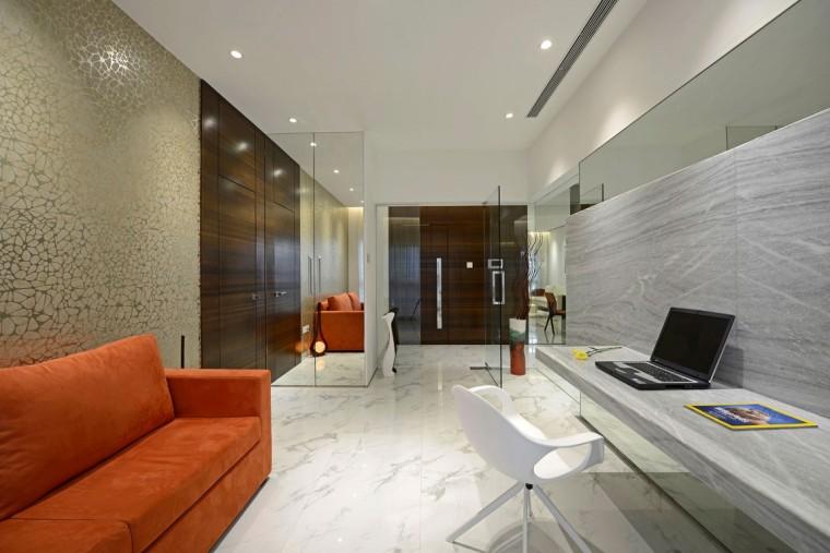 印度Ridgewood公寓室内房间实景图-印度Ridgewood公寓第8张图片