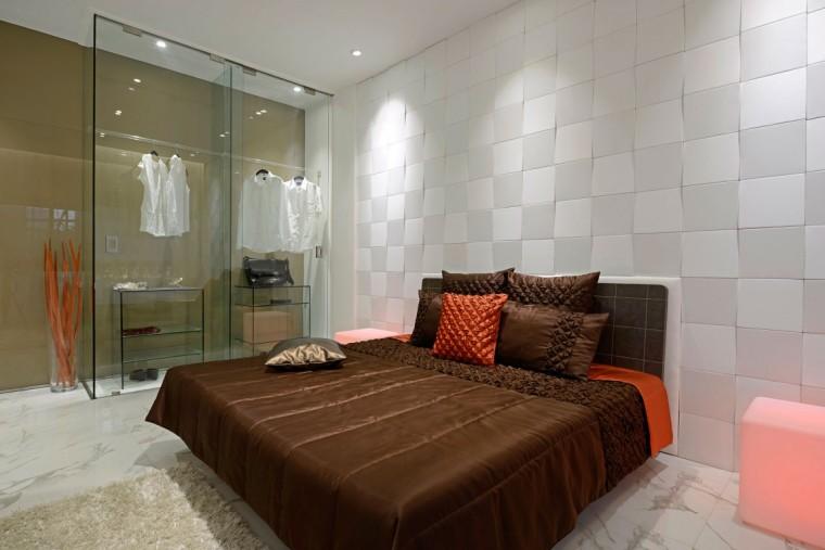印度Ridgewood公寓室内卧室实景图-印度Ridgewood公寓第14张图片