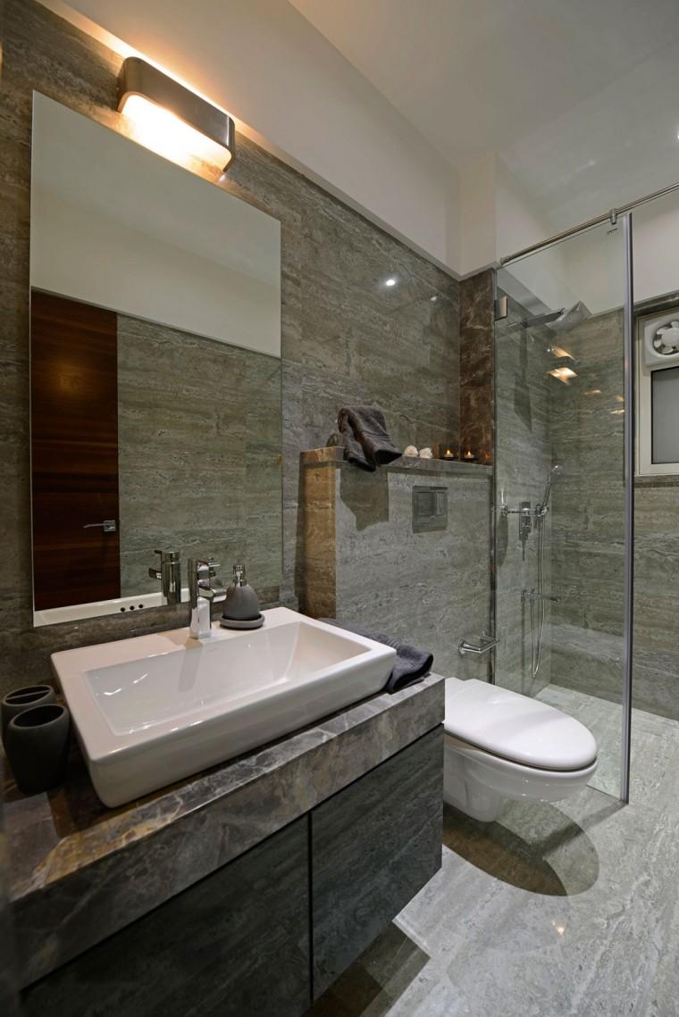 印度Ridgewood公寓室内浴室实景图-印度Ridgewood公寓第18张图片