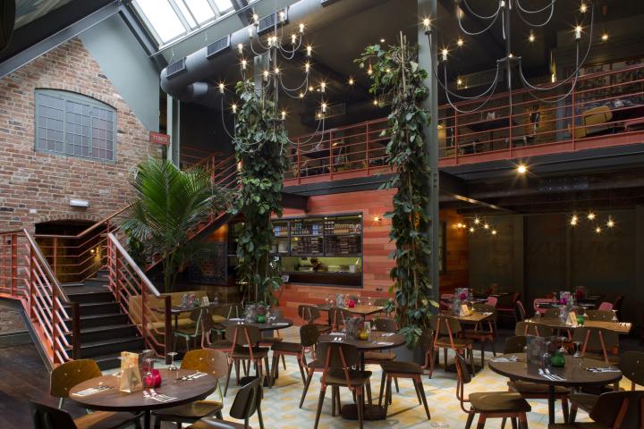 英国德比LasIguanas餐厅-英国德比Las Iguanas餐厅室内局部-英国德比Las Iguanas餐厅第3张图片
