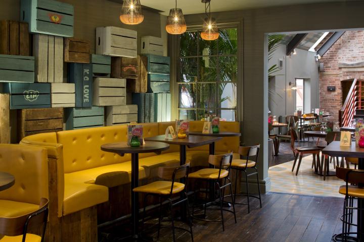 英国德比LasIguanas餐厅-英国德比Las Iguanas餐厅室内局部-英国德比Las Iguanas餐厅第6张图片