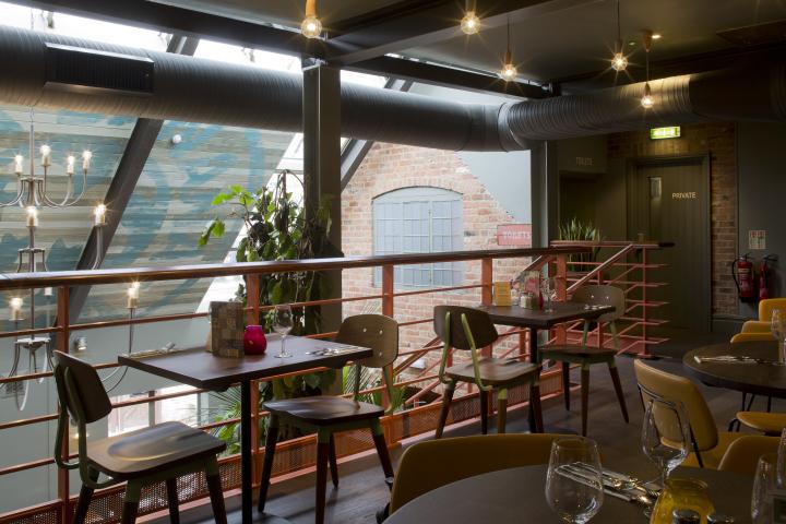 英国德比LasIguanas餐厅-英国德比Las Iguanas餐厅室内实景-英国德比Las Iguanas餐厅第9张图片